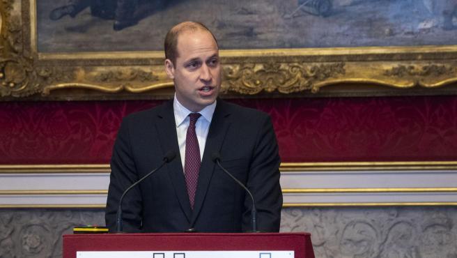 Guillermo de Inglaterra, en enero de 2020.
