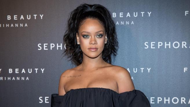 La cantante Rihanna, en 2017.