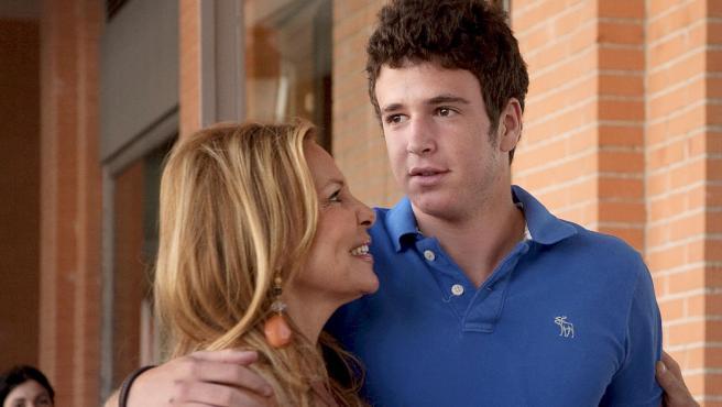 Ana Obregón y su hijo Álex Lequio en una imagen de archivo.