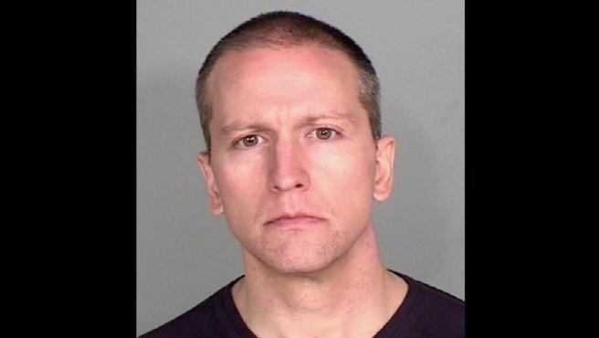 Derek Chauvin, el policía imputado por el asesinato de George Floyd.