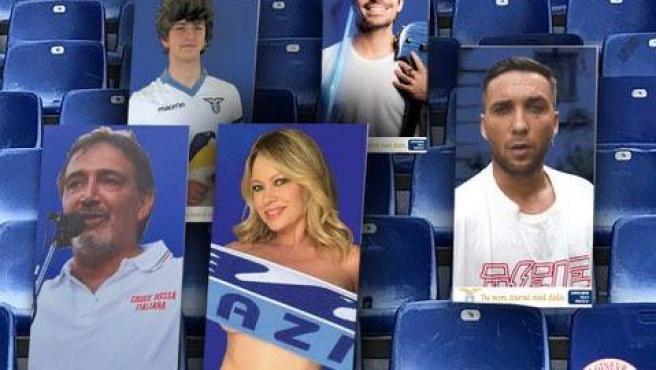 Carteles de aficionados de la Lazio