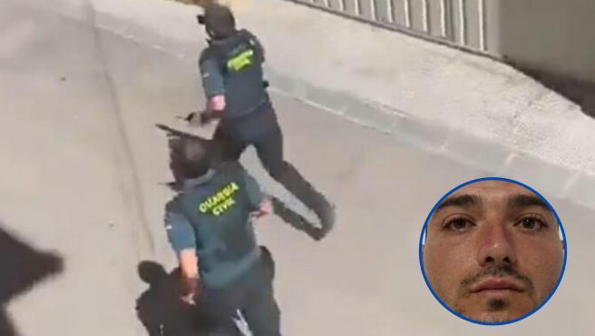 La Guardia Civil ha detenido en la localidad turolense de Andorra al fugitivo valenciano apodado como el Rambo de Requena. Este lunes por la tarde, el instituto armado había desplegado un operativo en la cercana localidad turolense de Muniesa por un tiroteo en el que ha resultado herido un agente.