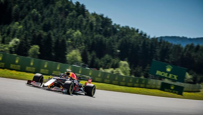 Max Verstappen, durante el GP de Austria de 2019.