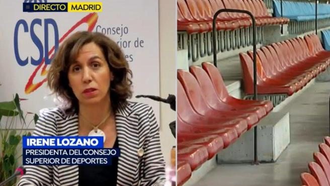 Irene Lozano, en Espejo Público.