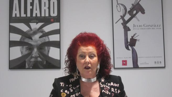 La directora de l'IVAM, Consuelo Ciscar