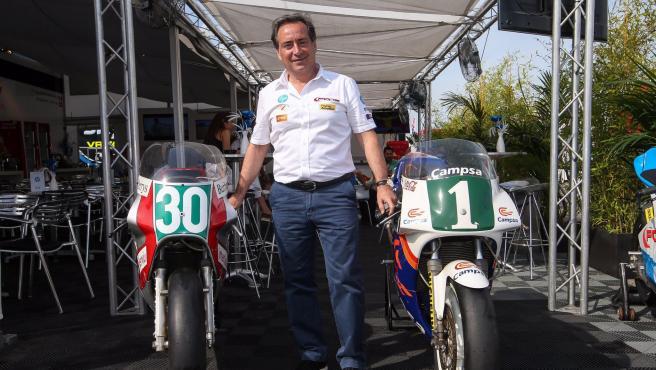 Sito Pons, excampeón del mundo de motociclismo.