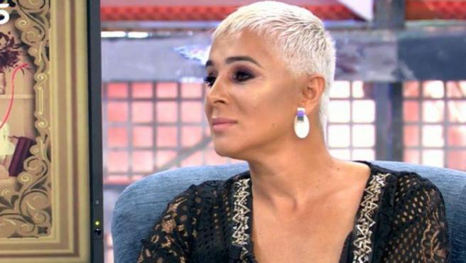 Ana María en su entrevista en Sábado Deluxe.