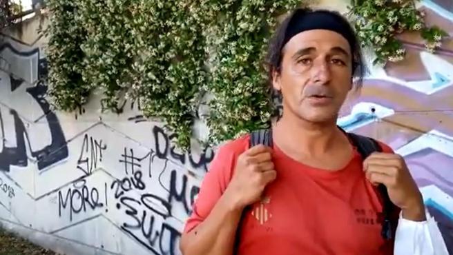 Joaquín Carmona, el tuitero del atletismo que vive en la calle
