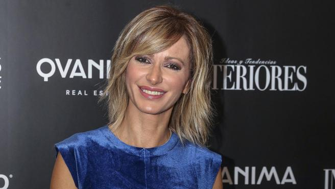 La presentadora Susanna Griso posa en un evento en Madrid.