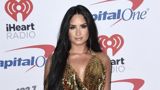 La cantante y actriz Demi Lovato, en diciembre de 2017.