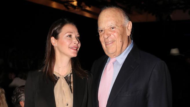 Esther Doña y su difunto marido, Carlos Falcó, en pasado febrero.