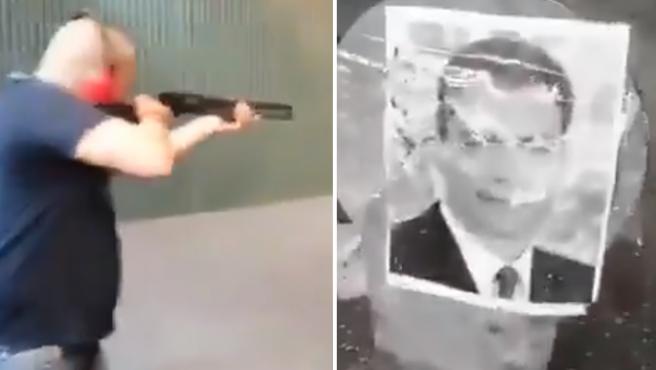 El vídeo de los disparos a la diana con miembros del Gobierno