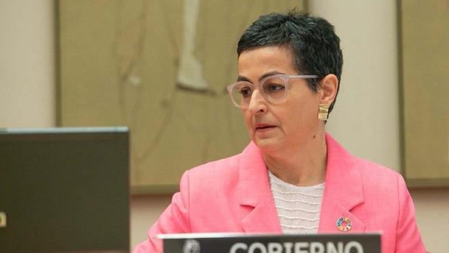 La ministra d'Afers exteriors, Unió Europea i Cooperació, Arancha González-Laya,