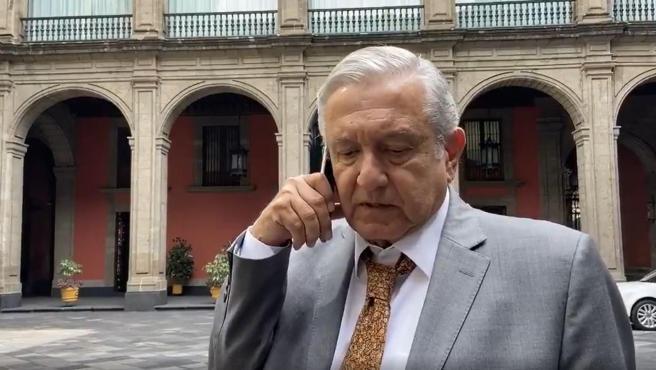 López Obrador ha querido tranquilizar a la población de México a través de varios vídeos publicados en sus redes.