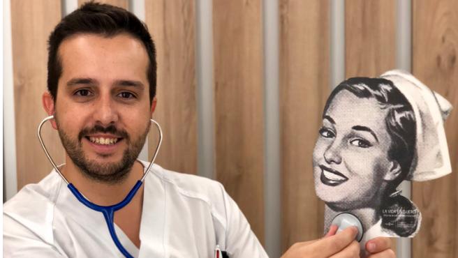 Héctor Castiñeira, el enfermero detrás de Enfermera Saturada.