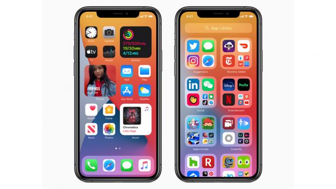 iOS 14 ofrece widgets en la pantalla de inicio, algo que Android hace desde hace mucho.