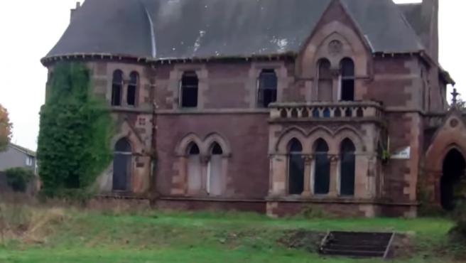 La mansión gótica The Elms en Arbroath, Escocia.
