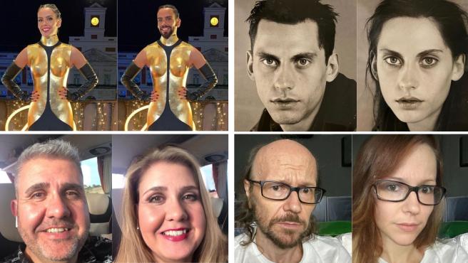 Cristina Pedroche, Paco León, Flo o Santiago Segura también han sucumbido a FaceApp.