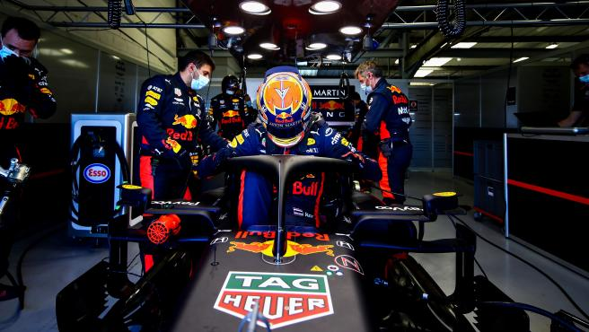 Alex Albon, piloto de Red Bull.