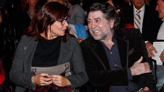 Joaquín Sabina y Jimena Coronado, en una imagen de octubre de 2019.
