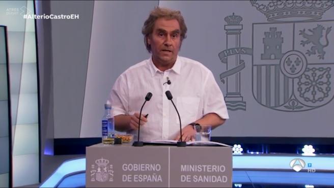 Carlos Latre, en 'El hormiguero'.