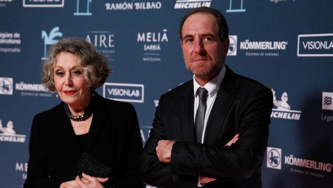 Rosa María Mateo y Enric Hernánez.