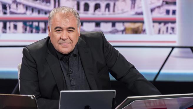 El presentador Antonio García Ferreras.