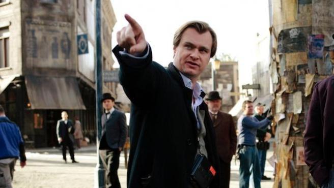 Rodaje de Christopher Nolan.