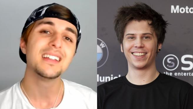 Los 'youtubers' Dalas y el Rubius.