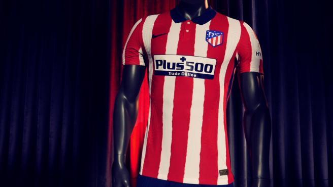 Camiseta del Atlético de Madrid para la temporada 2020/21