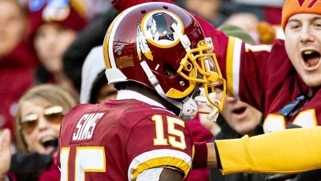 Partido de los Washington Redskins en la NFL.