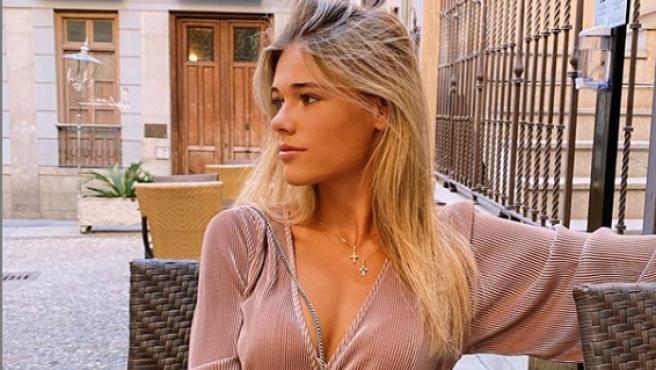 Ana Soria, en una fotografía en su cuenta de Instagram.