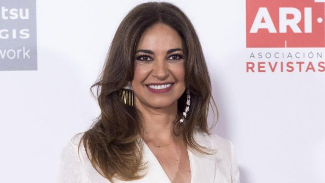 La periodista Mariló Montero durante la 40.ª edición de los premios ARI, en Madrid.