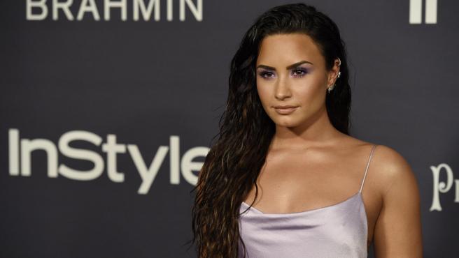 Demi Lovato en los premios 'InStyle', 2017.