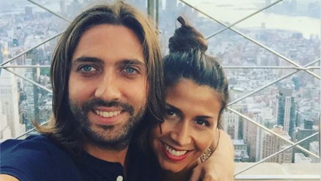 Juan Carmona y Sara Verdasco, en una fotografía en Instagram.