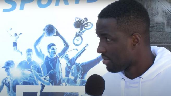Ibrahima Conté, jugador del Chamois Niortais FC.