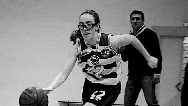 Ana Oliveira, jugadora del Sporting de Portugal