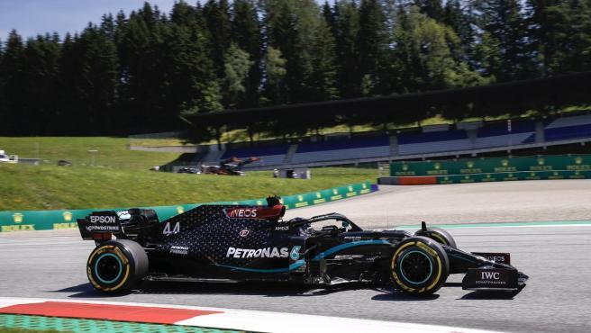 Lewis Hamilton, en el GP de Austria