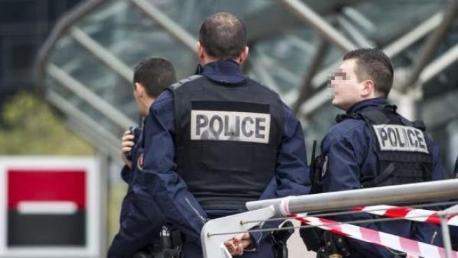 Agentes de la Policía francesa, en una imagen de archivo.