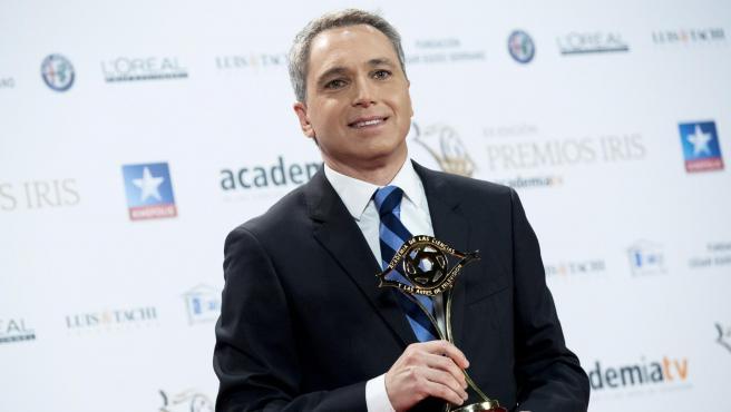 El periodista Vicente Vallés, en una imagen de archivo de 2018.