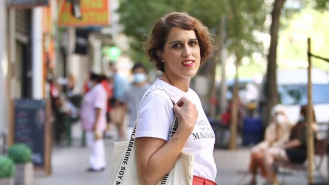 Laura Baena, presidenta de Malas Madres y embajadora de la categoría 'Crianza y conciliación' de los Premios 20Blogs