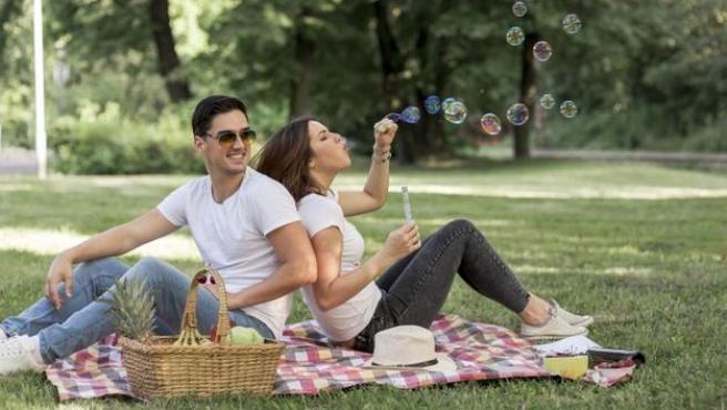 En un parque, en la ladera de la montaña o en cualquier excursión se puede disfrutar de un picnic.