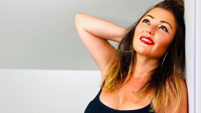 La imagen de Amaia Montero que ha suscitado varios comentarios sobre su aspecto.