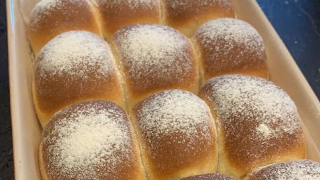 Bollos de pan de queso fresco de Chicote.