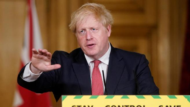 UK Prime Minister Boris Johnson press conference in London