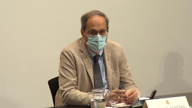 Torra estudia presentar una denuncia contra el Rey Juan Carlos