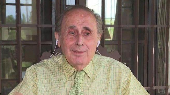 Jaime Peñafiel, en 'Cuatro al día'.
