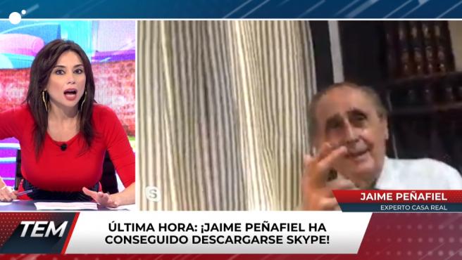 Jaime Peñafiel interviene en 'Todo es mentira'.