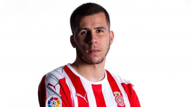 Christian Rivera, jugador del Girona