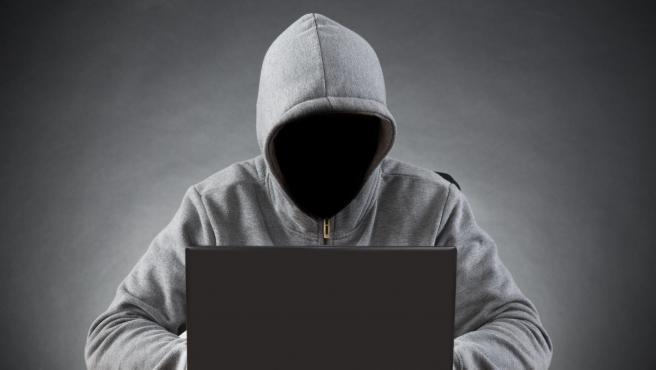 Imagen de recurso de un delincuente virtual.